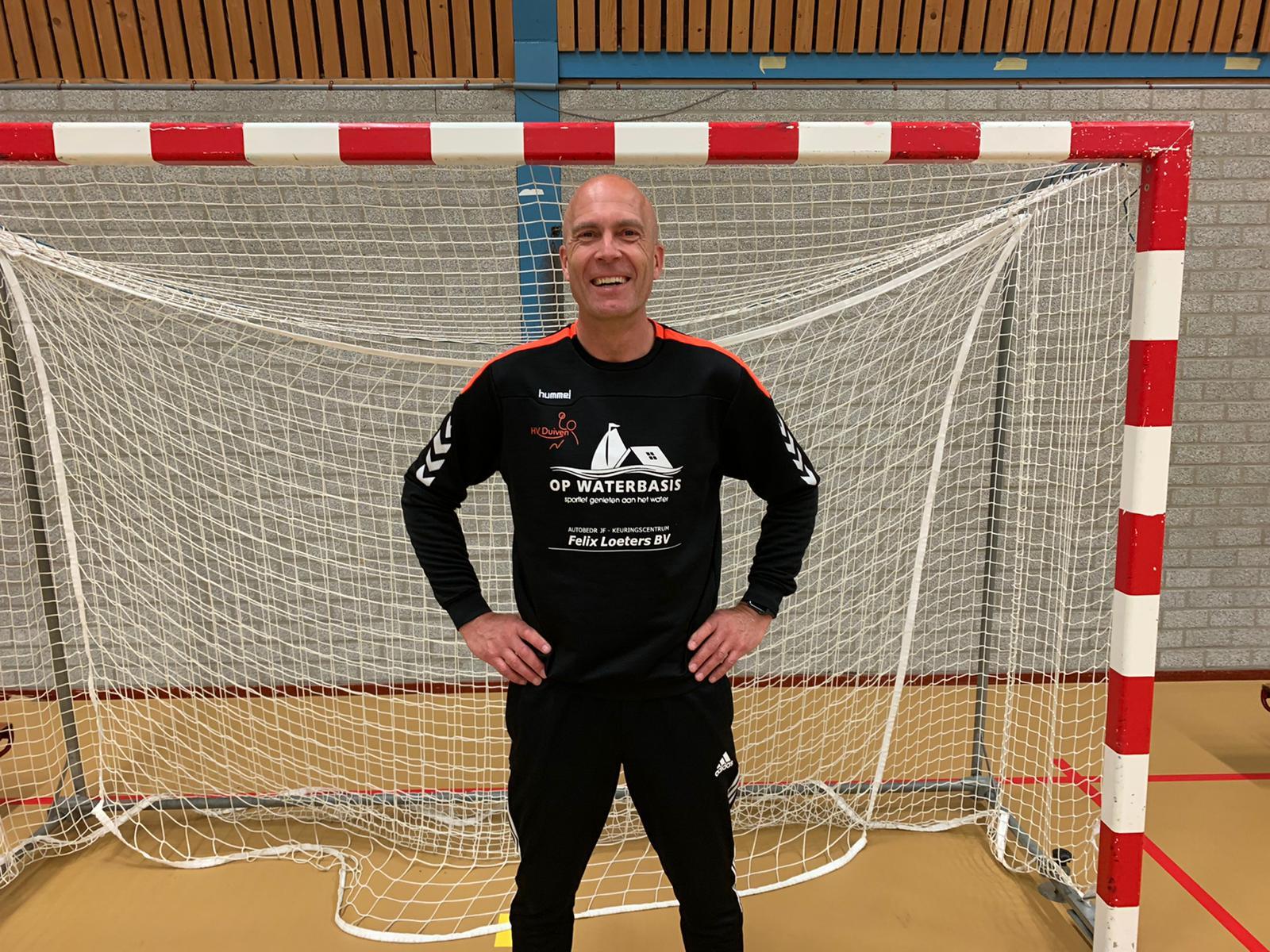 Rob Verhaaf wordt trainer/coach Heren 1 HV Duiven